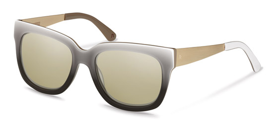 Claudia Schiffer by Rodenstock-Sonnenbrille-C3010-black/light gold