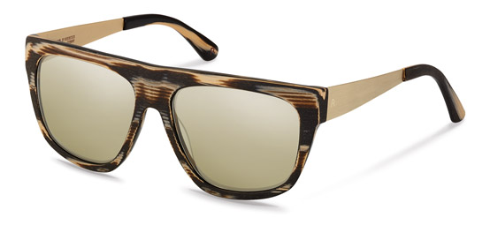 Claudia Schiffer by Rodenstock-Sonnenbrille-C3011-black/light gold