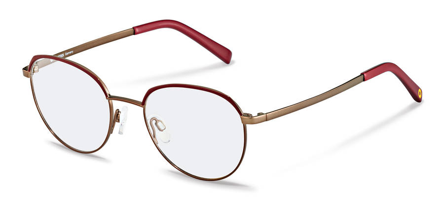 Rodenstock Capsule Collection-Korrektionsfassung-RR219-darkred/copper