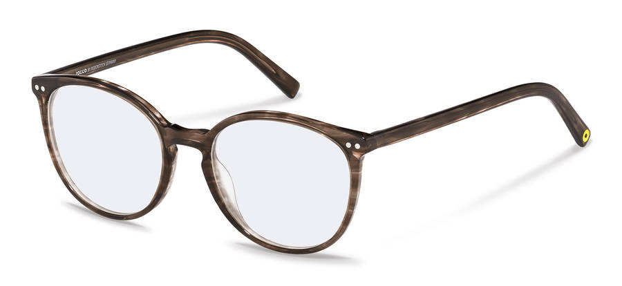 Rodenstock Capsule Collection-Korrektionsfassung-RR450-brownstructured