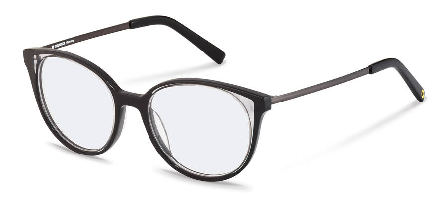 Rodenstock Capsule Collection-Korrektionsfassung-RR462-black/lightgrey/darkgun
