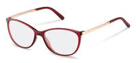 Rodenstock-Korrektionsfassung-R5315-dark red, rose gold