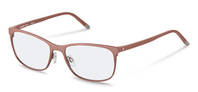 Rodenstock-Korrektionsfassung-R7033-rose gold, dark red