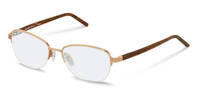 Rodenstock-Korrektionsfassung-R7041-rose gold, brown