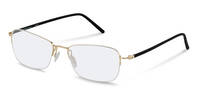 Rodenstock-Korrektionsfassung-R7053-light gold, black