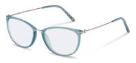 Rodenstock-Korrektionsfassung-R7070-light blue, light gun