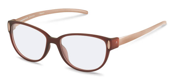 Rodenstock-Korrektionsfassung-R8016-dark red transparent