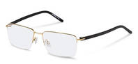Rodenstock-Korrektionsfassung-R2605-light gold, black