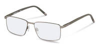 Rodenstock-Korrektionsfassung-R7047-light gunmetal, dark grey