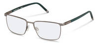Rodenstock-Korrektionsfassung-R7050-light gunmetal, dark green