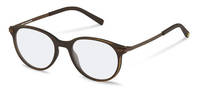 rocco by Rodenstock-Korrektionsfassung-RR439-dark brown used look, brown
