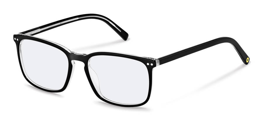 Rodenstock Capsule Collection-Korrektionsfassung-RR448-blackcrystallayered