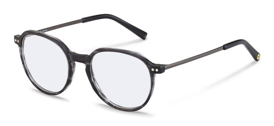 Rodenstock Capsule Collection-Korrektionsfassung-RR461-darkgreystructured/darkgun