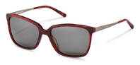 Rodenstock-Sonnenbrille-R3298-red structured, gunmetal