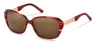 Rodenstock-Sonnenbrille-R3299-red structured, rose gold