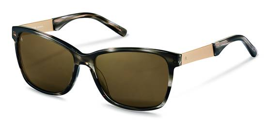 Rodenstock-Sonnenbrille-R3302-dark grey structured, light gold