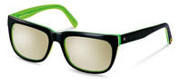 rocco by Rodenstock-Sonnenbrille-RR309-black/  green layered