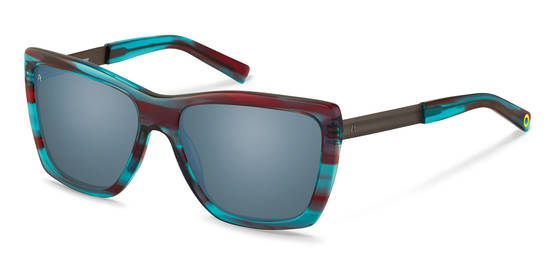 rocco by RODENSTOCK-Sonnenbrille-RR320-red-turquoise